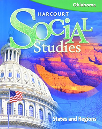 9780153485848: Harcourt Social Studies Oklahoma: Student Edition Grade 4 States & Regions 2008