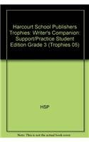 9780153490637: Trophies: Writer's Companion: Support and Practice for Writing Grade 3