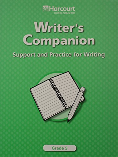9780153490651: Trophies: Writer's Companion: Support and Practice for Writing Grade 5