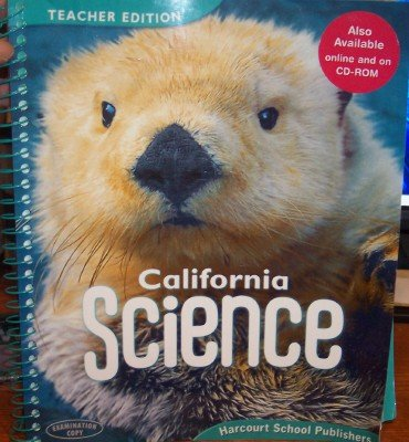 9780153491030: Harcourt School Publishers Science California: Teacher's Edition Grade 1 2008