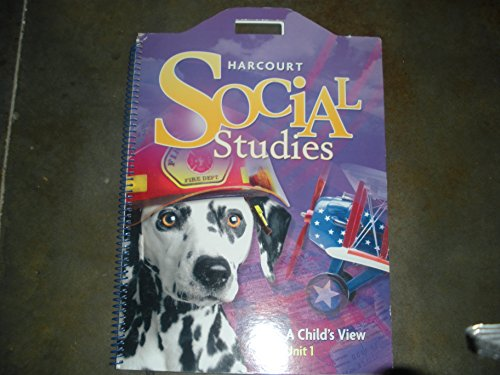 9780153493911: Harcourt Social Studies: Unit Big Book Unit 1 Grade 1