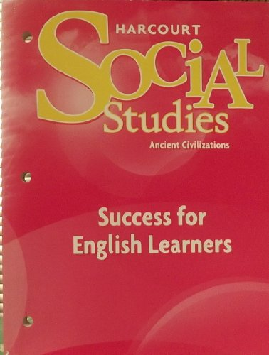 9780153494161: Success for English Learners (Harcourt Social Studies Ancient Civilizations)