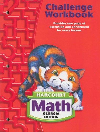 Math, Grade 2 Challenge Workbook: Harcourt School: HARCOURT SCHOOL PUBLISHERS
