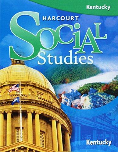 9780153498596: Harcourt Social Studies: Student Edition Grade 5 Kentucky 2008