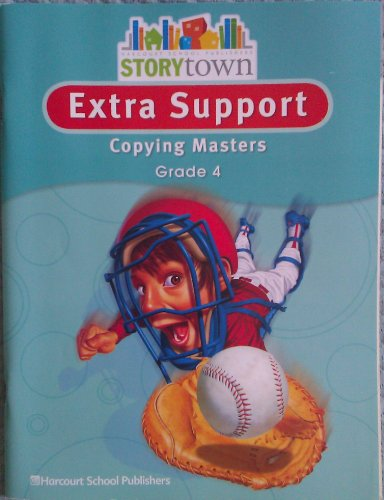 9780153498695: Storytown: Extra Support Copying Masters Grade 4