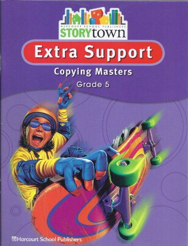 9780153498701: Storytown: Extra Support Copying Masters Grade 5