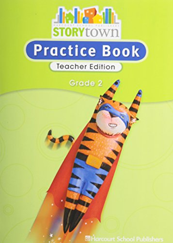 9780153498831: Storytown: Practice Book Teacher Edition Grade 2
