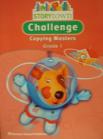 9780153498909: Storytown, Grade 1: Challenge Copying Masters