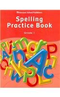 9780153498961: Storytown: Spelling Practice Book Student Edition Grade 1