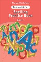 Harcourt School Publishers Storytown Spelling Practice