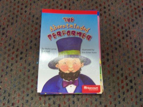 9780153505447: Harcourt School Publishers Storytown: Below Level Reader Grade 5 Absentminded Performance (Rdg Prgm 08/09/10 Wt)