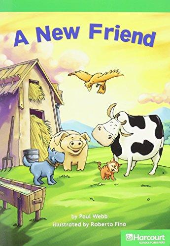 9780153513015: New Friend, Advanced Reader Grade 1: Harcourt School Publishers Storytown (Rdg Prgm 08/09/10 Wt)