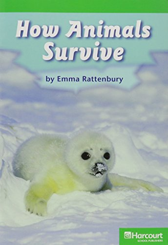 How Animals Survive, Advanced Reader Grade 1: Hsp (Corporate Author)