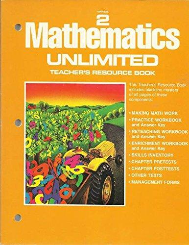 9780153515811: Mathematics Unlimited: Teacher's Resource Book. Grade 2.