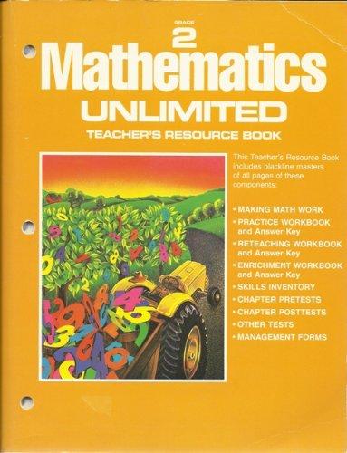 9780153515880: MATHEMATICS UNLIMITED:TEACHER'S RESOURCE BOOK.GRADE 2.