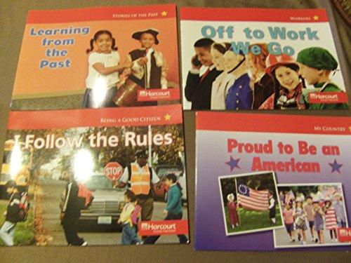 9780153518430: Harcourt School Publishers Social Studies: Below-Lv Reader Social Studies 2007 Grade K I Follow/Rules