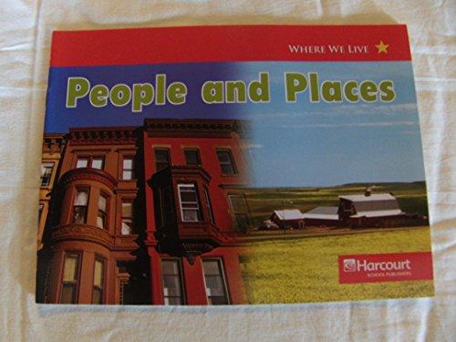 9780153518461: People and Places, Below-level Reader Grade K: Harcourt School Publishers Social Studies (Social Studies 07)