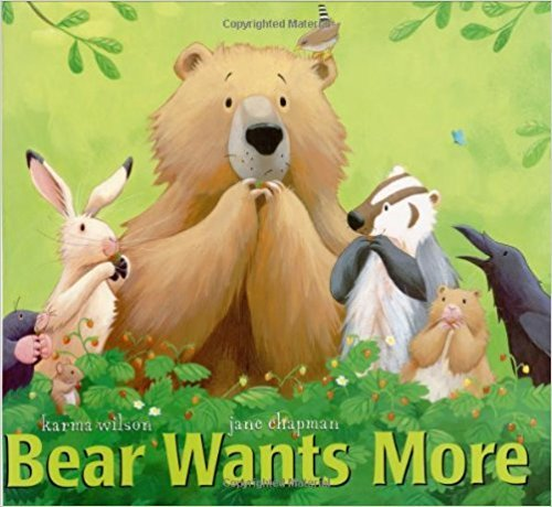 9780153519352: Harcourt School Publishers Storytown: Big Book Grade 1 Bear Wants More (Rdg Prgm 08/09/10 Wt)