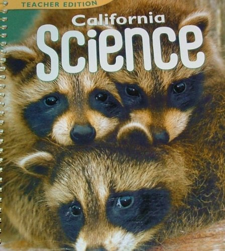 9780153519536: Harcourt School Publishers Science California: Teacher's Edition Grade K 2008