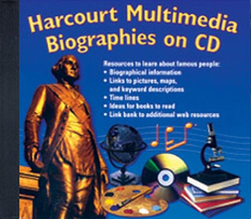 9780153519734: Harcourt Reflections: Multimedia Biographies CD-ROM Grades K-6