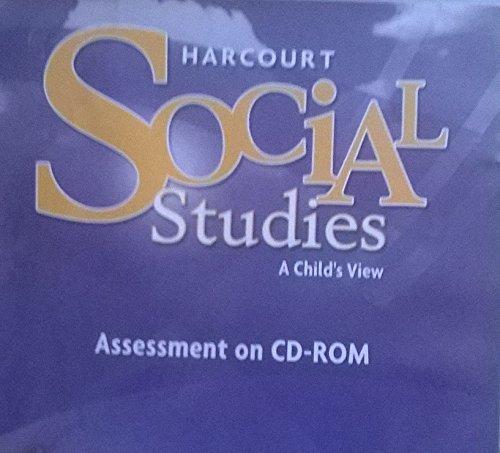 9780153519772: Harcourt Social Studies: Assessment Program CD-ROM Grade 1