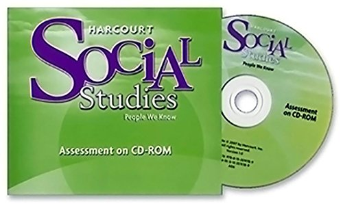 9780153519789: Harcourt Social Studies: Assessment Program on CD-ROM Grade 2 People We Know