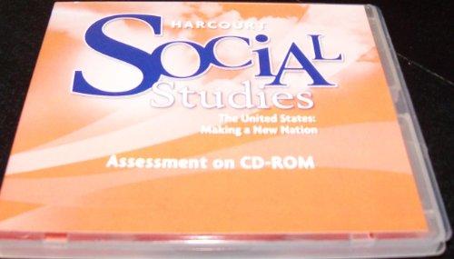 9780153519819: Harcourt Social Studies: Assessment Program CD-ROM Grade 5 US: Making a New Nation