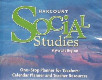 9780153519901: Harcourt Social Studies: One-Stop Planner for Teachers CD-ROM Grade 4 States and Regions