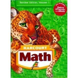 9780153522376: Harcourt Math, Vol. 1, Grade K, Teacher's Edition
