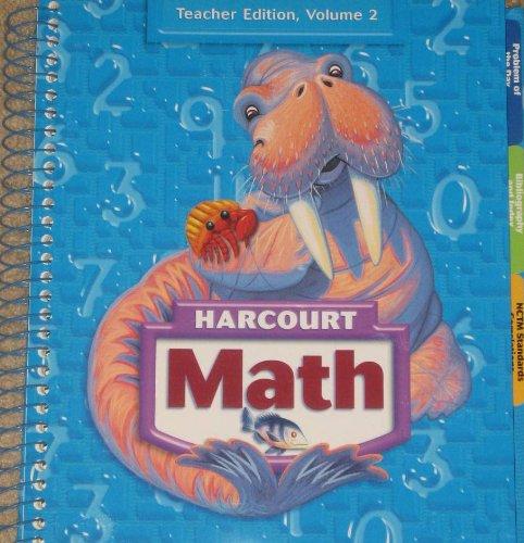 Harcourt Math, Vol. 2, Grade 3, Teacher's Edition