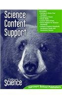 9780153522833: Harcourt School Publishers Science: Science Content Support Student Edition Science 08 Grade 4