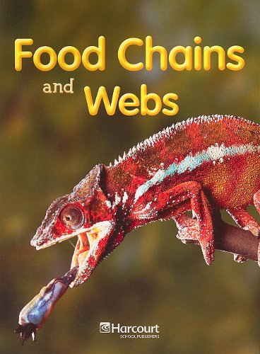 9780153523465: Harcourt School Publishers Science California: On-Lv Rdr Food Chns&Wb G4 Sci08