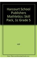 9780153525476: Mathletics: Individual Skill Set Pack (packages of 5) Grade 5 Test 1C