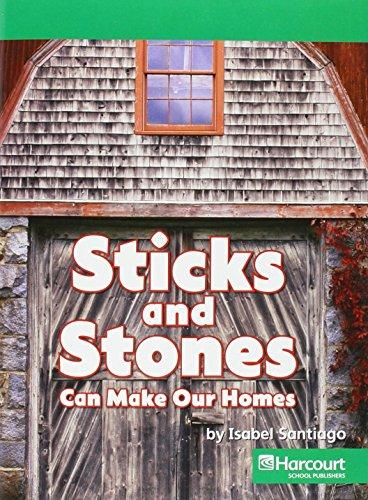 9780153527760: Harcourt Social Studies: Above Level Reader .Social Studies 2007 Grade 2 Sticks&Stones