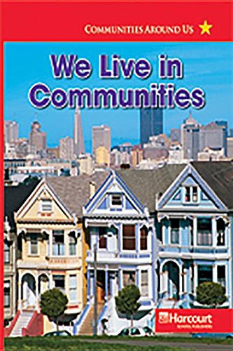 9780153528057: Harcourt Social Studies: Reader 6-pack Below-Level Grade 3 We Live in Communities