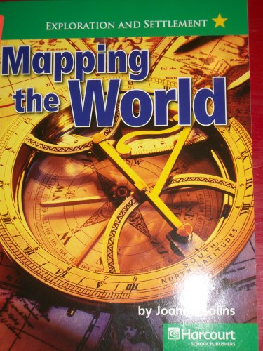 9780153528965: Harcourt Social Studies: United States: Above-Level Reader Mapping the World