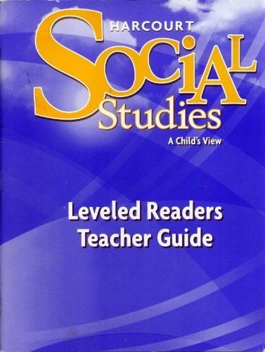 9780153530715: Harcourt Social Studies: Leveled Readers Teacher Guide, Grade 1