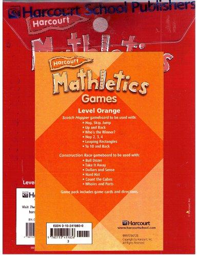 9780153533730: Mathletics: Assessment Post Test, Grade 3, 1-62, Level Orange