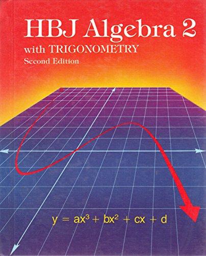 9780153536410: HBJ Algebra 2 with Trigonometry