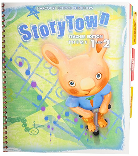 9780153536625: Harcourt School Publishers Storytown Teacher Edition Theme 1 (Follow Me) and 2 (One For All) Grade 1