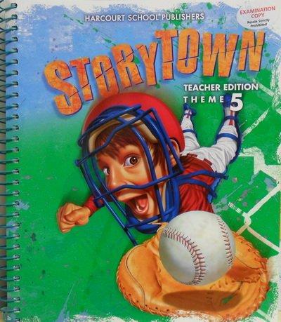 9780153537059: Storytown: Teacher's Edition Winning Catch Thm 5 Grade 4 Winning Catch 2008
