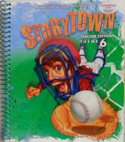 Storytown: Teacher's Edition  Winning Catch Thm 6 Grade 4 Winning Catch 2008 (0153537086) by HARCOURT SCHOOL PUBLISHERS