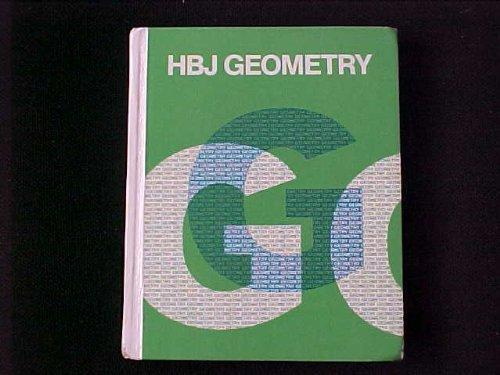 9780153538728: Hbj Geometry