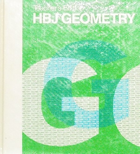 HBJ Geometry: Teacher's Edition: James F. Ulrich