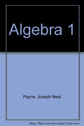 9780153539190: Algebra 1