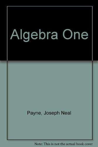 9780153539213: Algebra One
