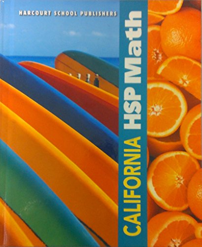 California HSP Math [Second Printing]: Maletsky, Evan M.;