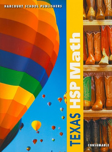 9780153541759: Harcourt School Publishers Math: Student Edition (Consumable) Grade 2 2009