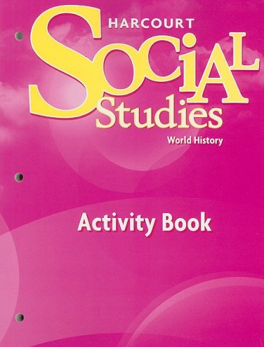 9780153542459: Social Studies World History Activity Book