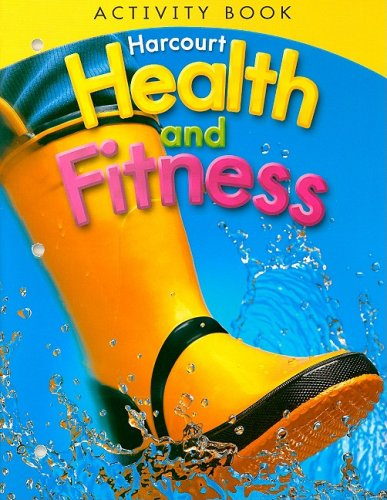 9780153551376: Health and Fitness Activity Book, Grade 1
